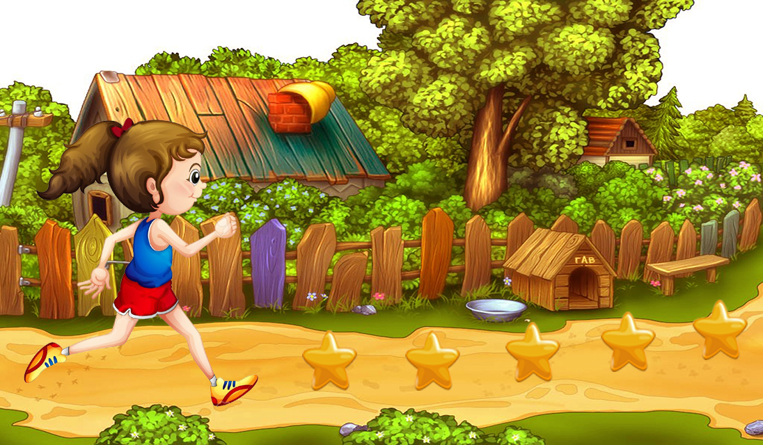 Princess Jungle Run