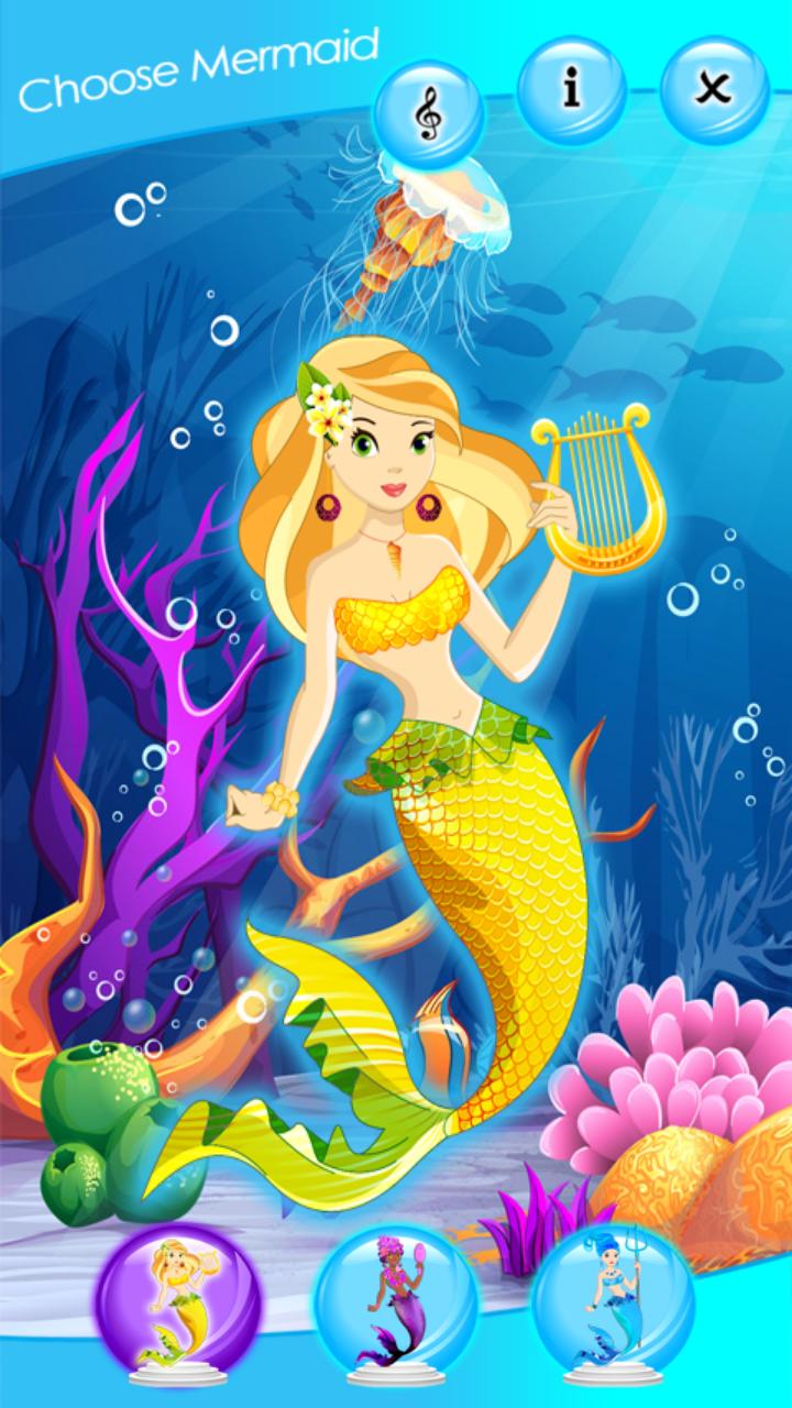 Princess Mermaid Dress Up Games