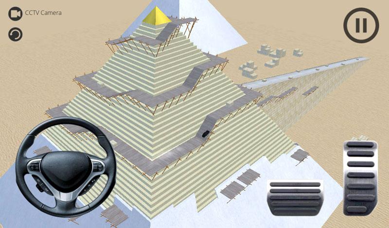 Pyramid Climb Racing 3D