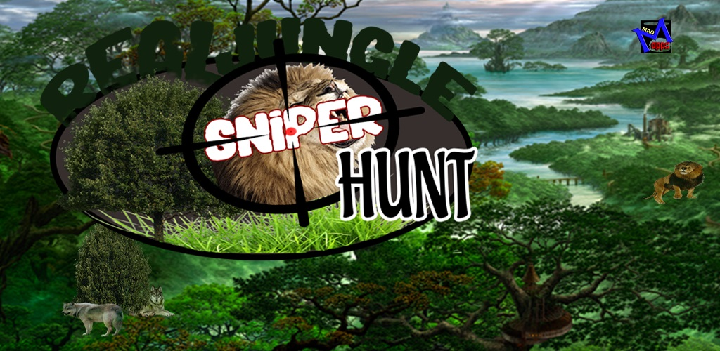 Real Jungle Sniper Hunt