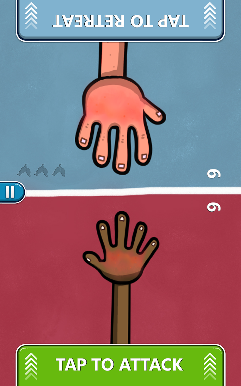 Red Hands  2-Player Games
