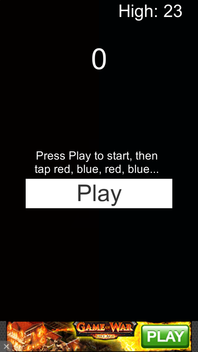 Red Blue