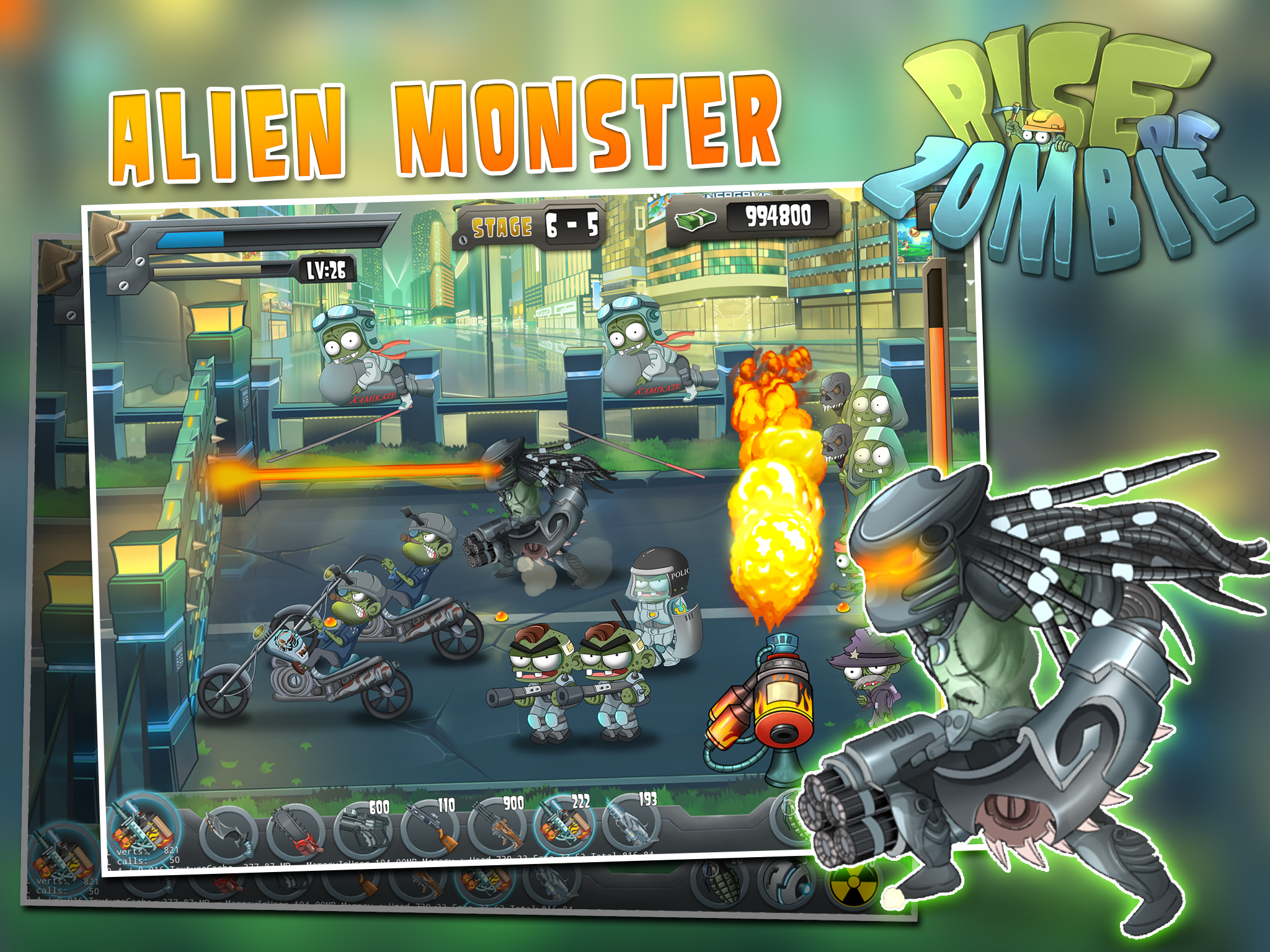 Rise of Zombie – City Defense
