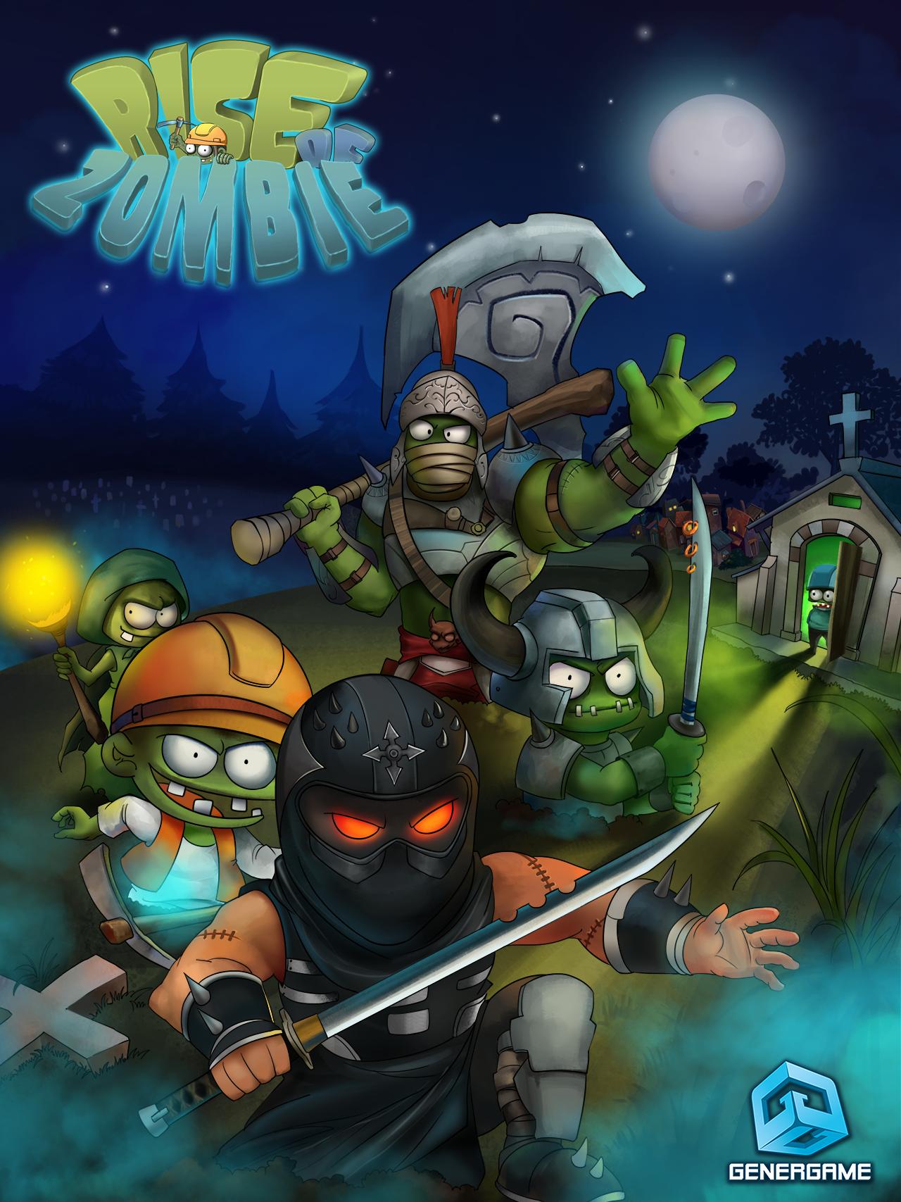 Rise of Zombie – City Defense