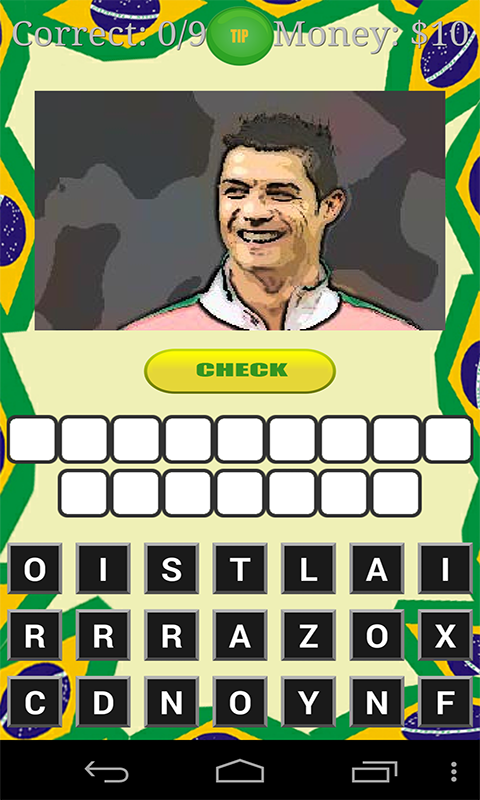 Road to Brasil football quiz