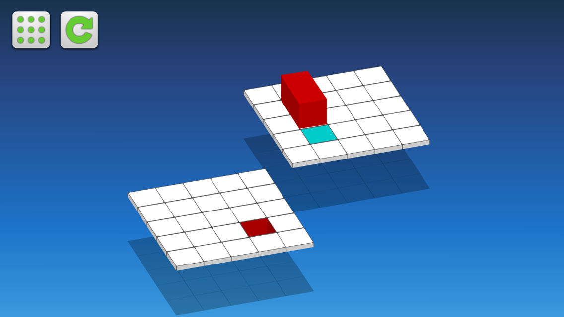 Rolling Block Puzzle Game