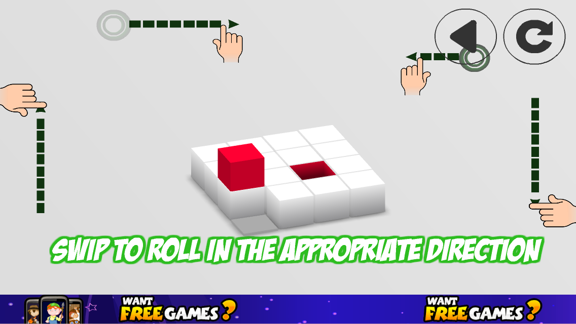 Rolling cube super Puzzle Game