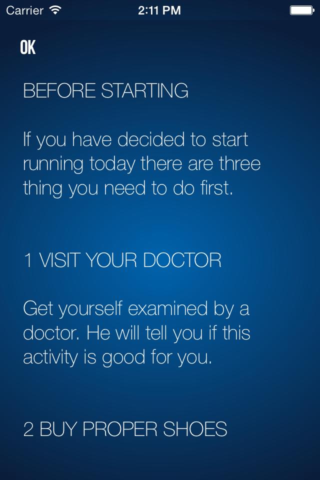 Running – beginner's guide
