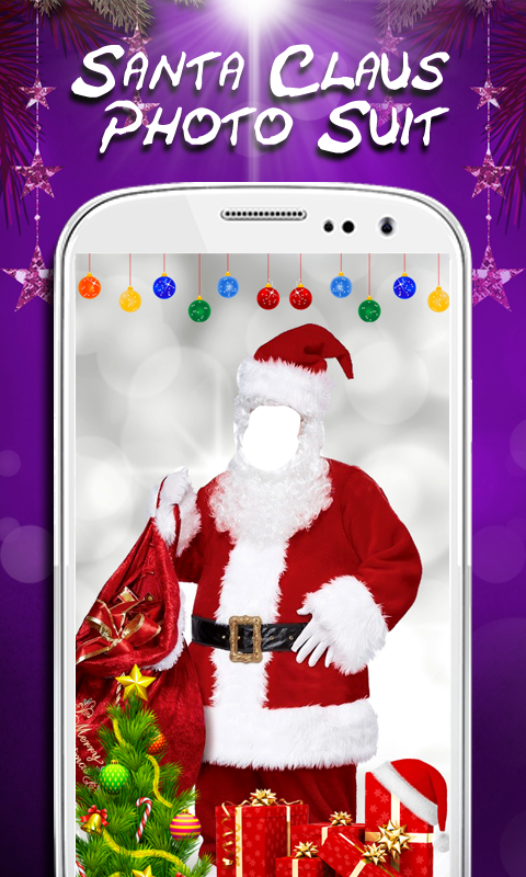 Santa Claus Photo Suit New