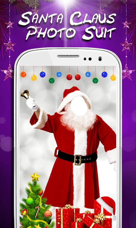 Santa Claus Photo Suit New