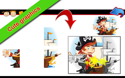 Ships Puzzles for toddlers