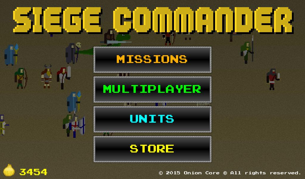 Siege Commander