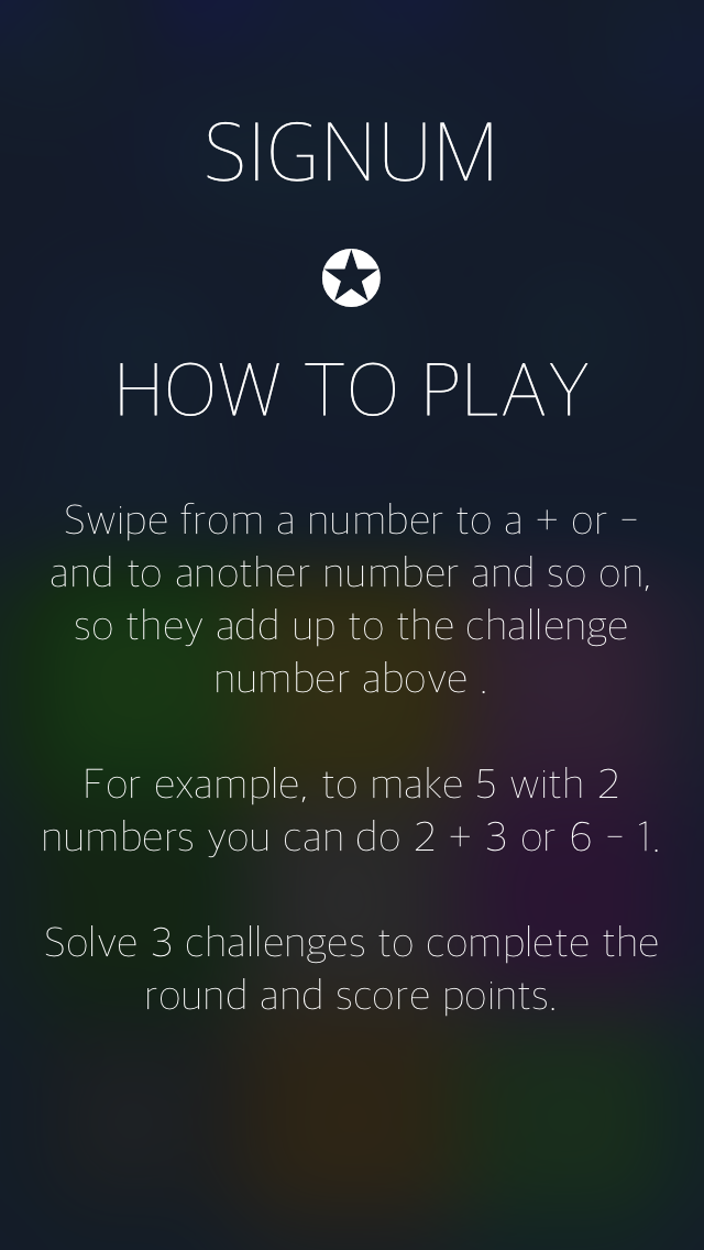 Signum: A Simple Puzzle Game About Numbers