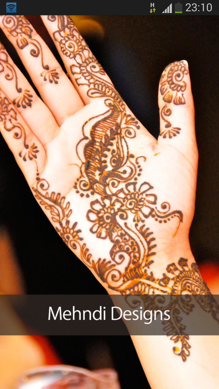 Simple Mehndi Designs 2015