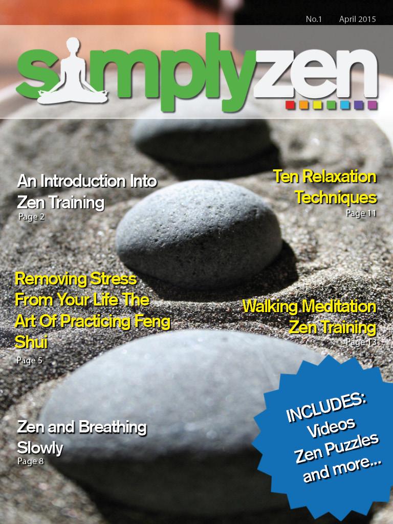 SimplyZen Magazine Zen Living