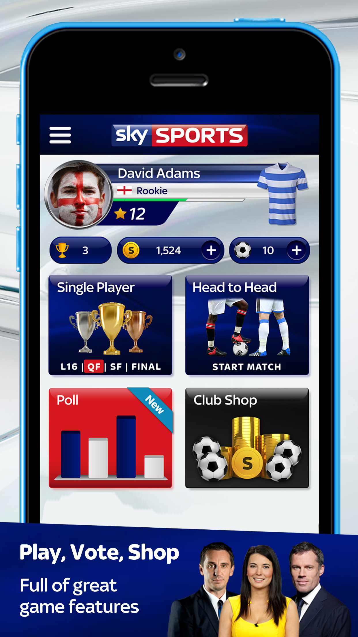 Sky Sports Soccer Quiz