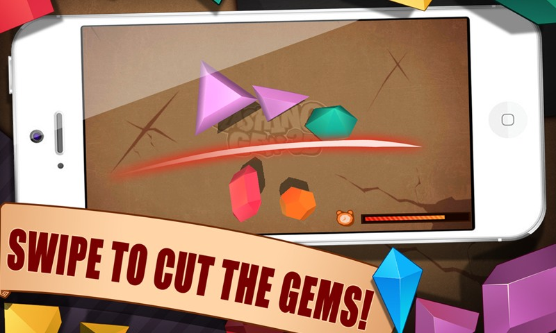 Slashing Gems 3D