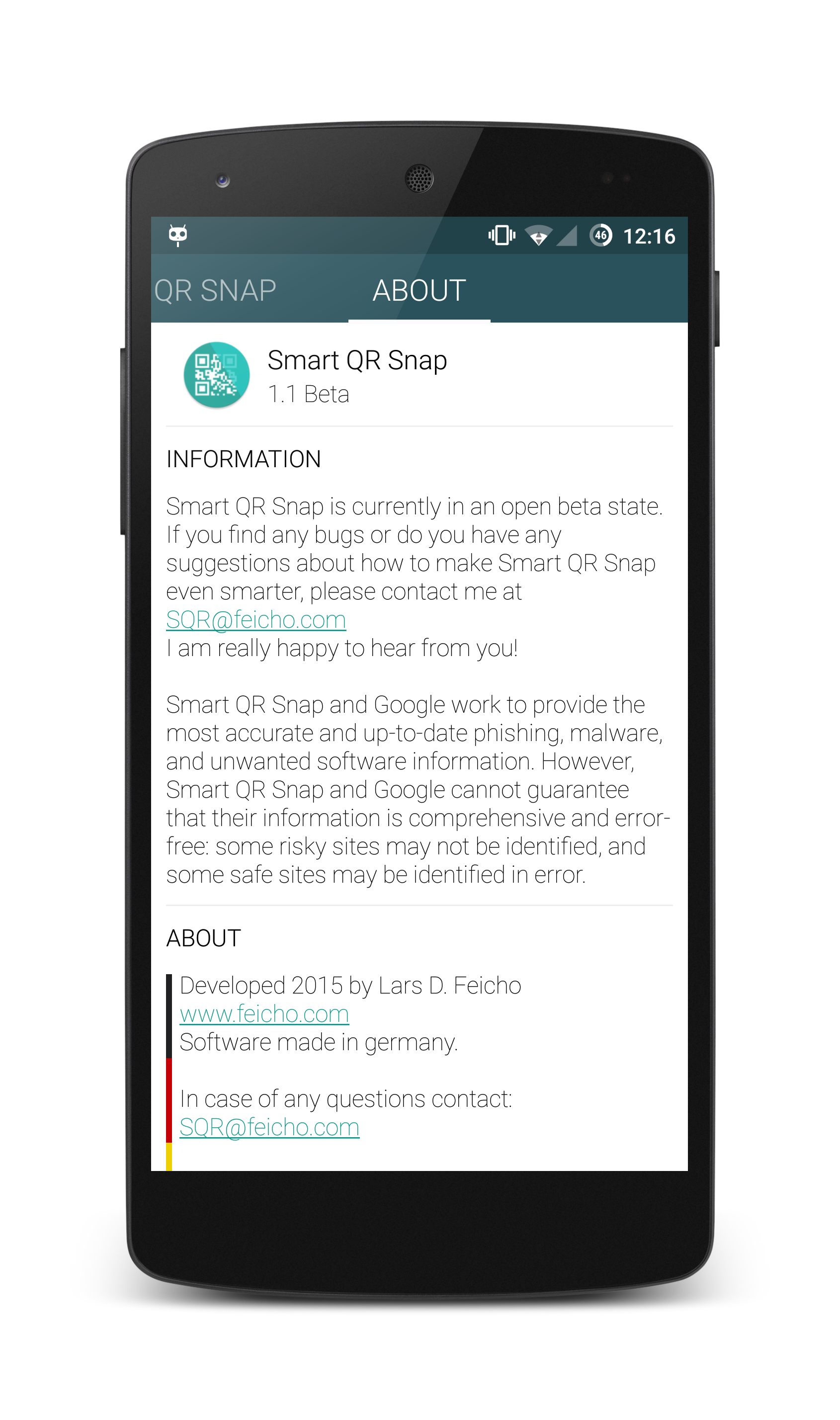 Smart QR Snap