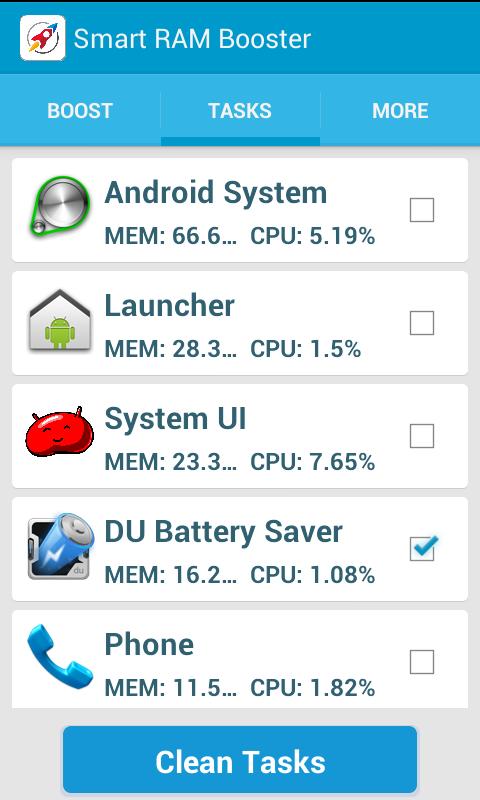 Smart RAM Booster