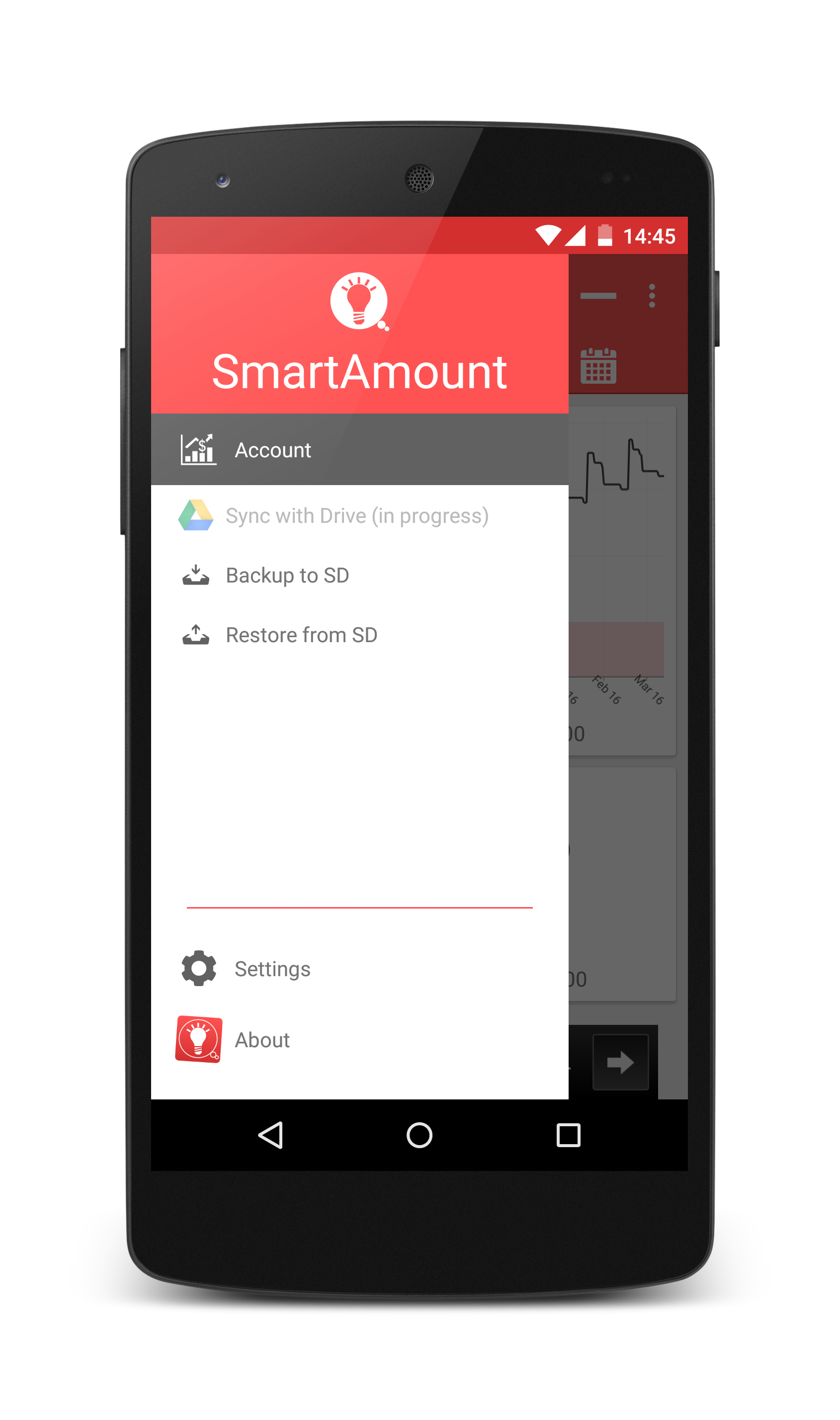 SmartAmount – The money planner