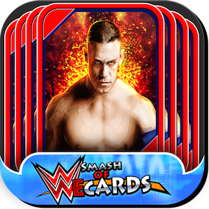 Smash of WWE cards