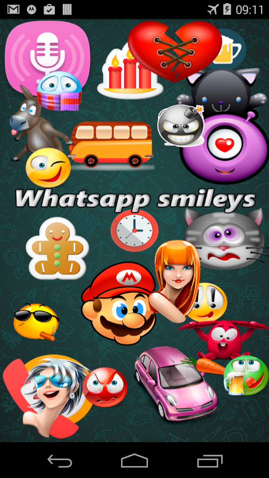 smileys for whats app