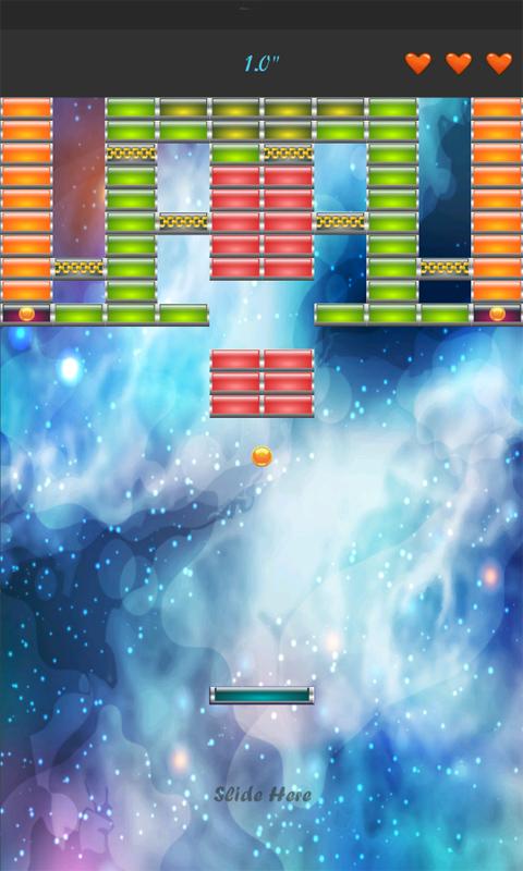 Space Brick Breaker