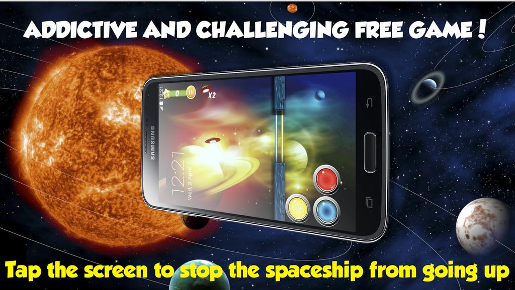 Spaceship battle: Keep IT DOWN
