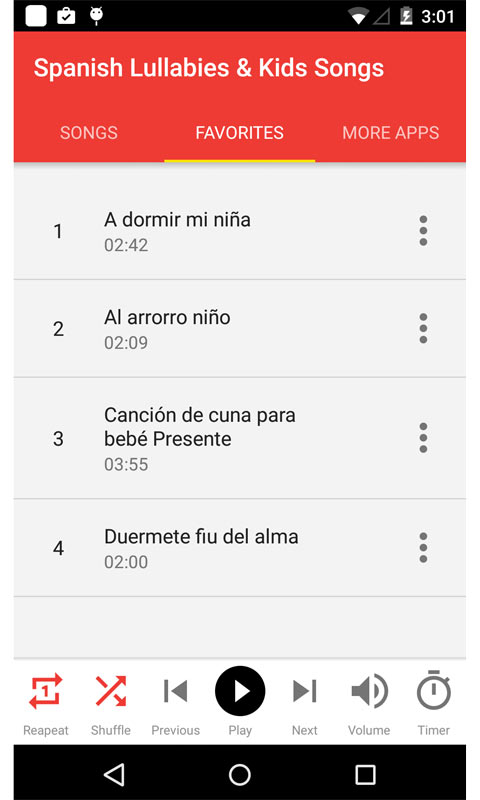 Spanish Lullabies & Kids Songs