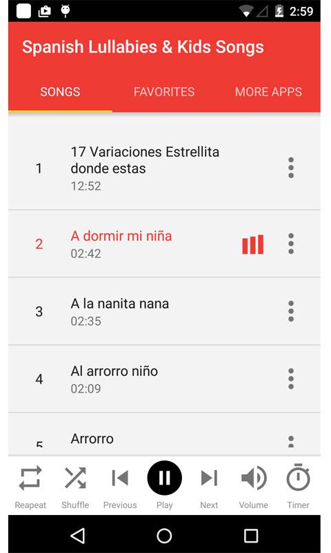 Spanish Lullabies & Kids Songs