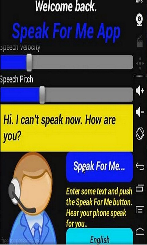 Speak For Me App