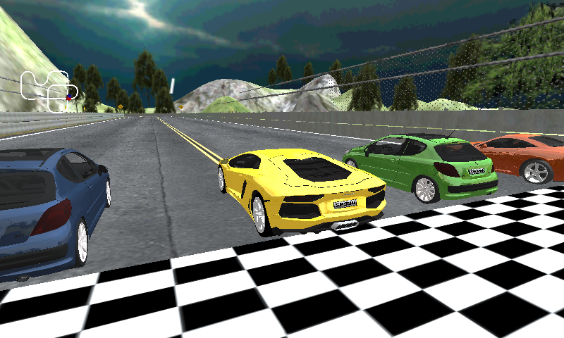 Speed cars racing 2015