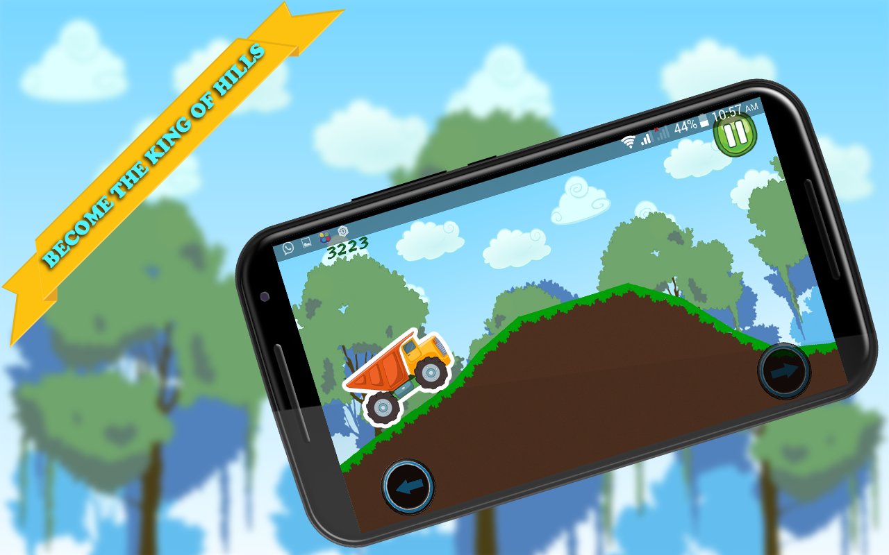 Speedy Truck : Hill Racing 2