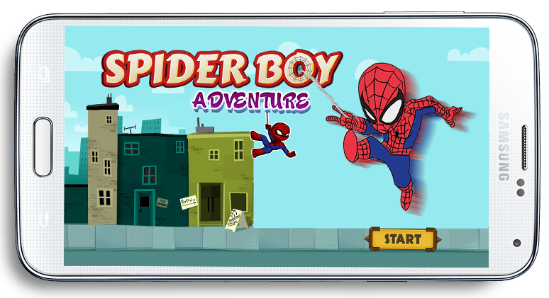 Spider Boy Run Adventure