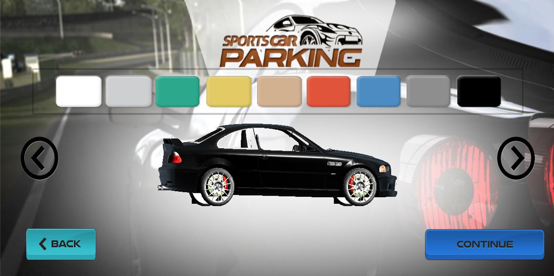 Sports Car Parking 3D