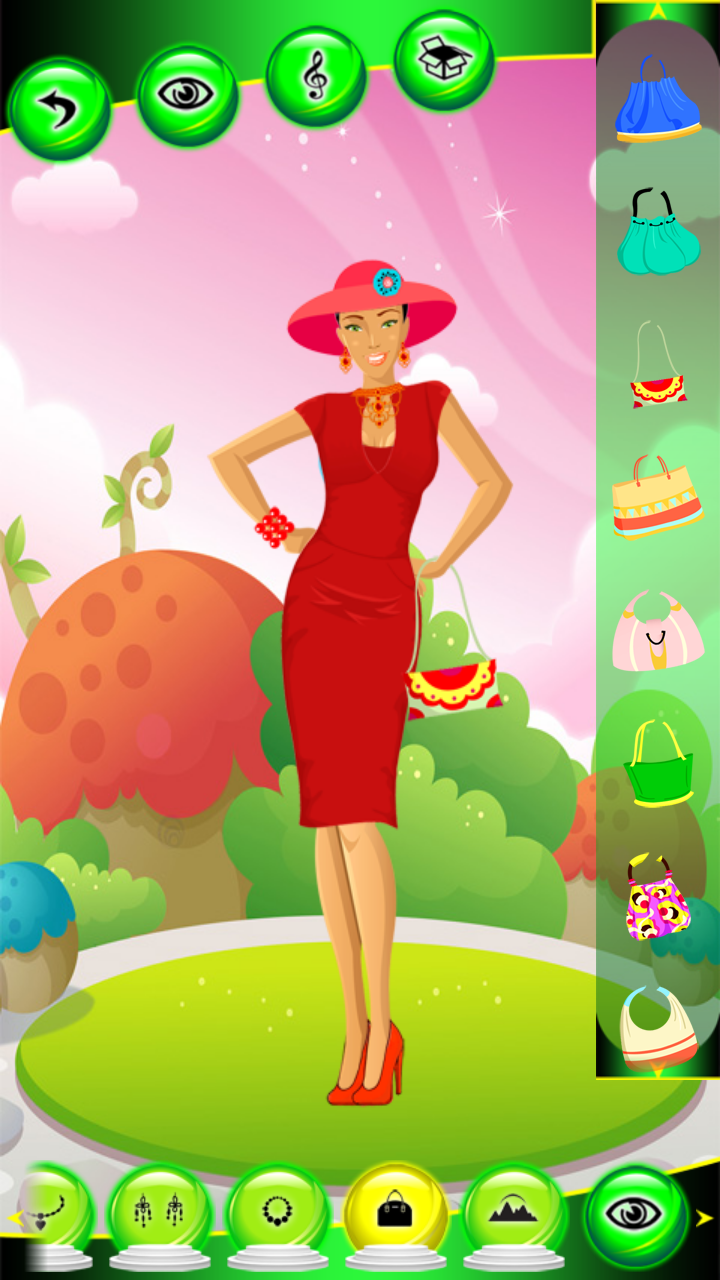 Spring Fashion Dress Up Games