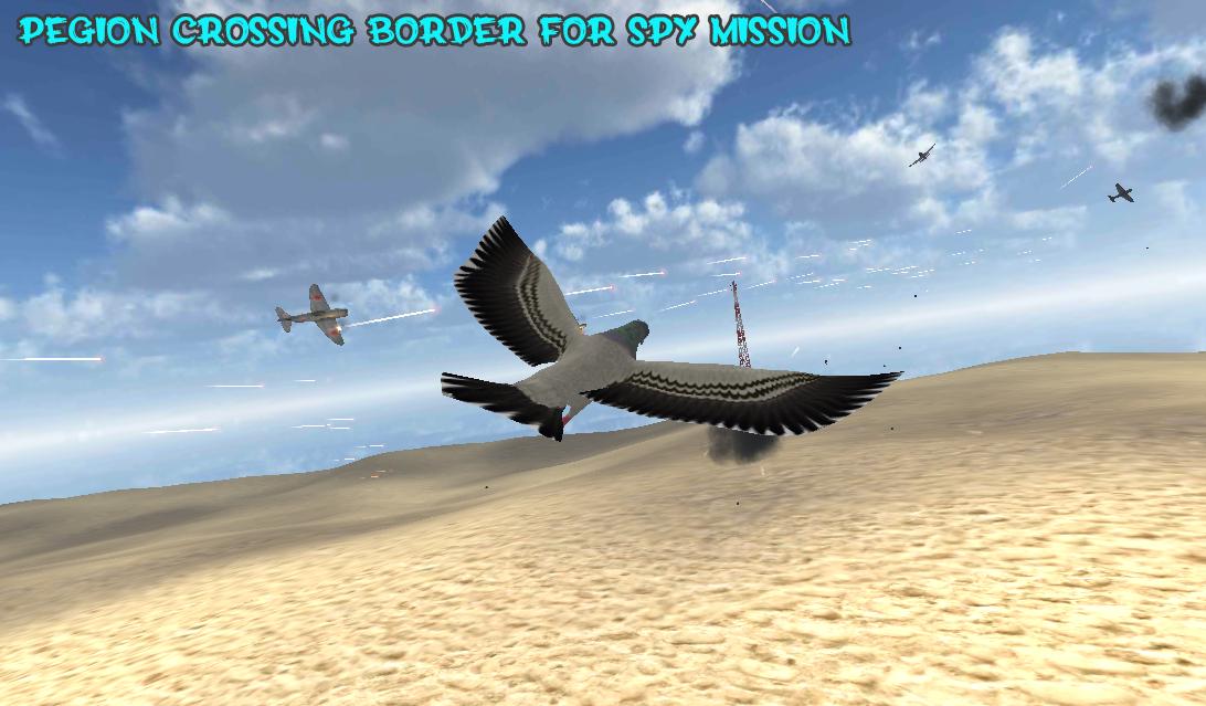 Spy Pigeon Air Strike
