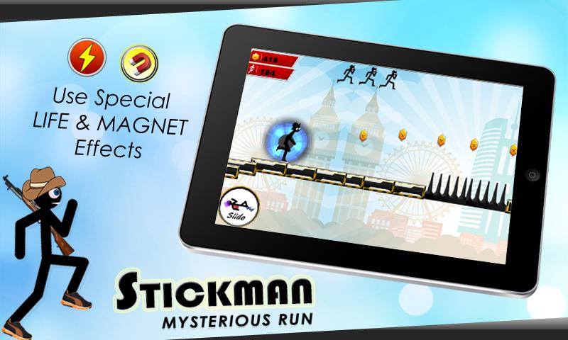 StickMan Mysterious Run