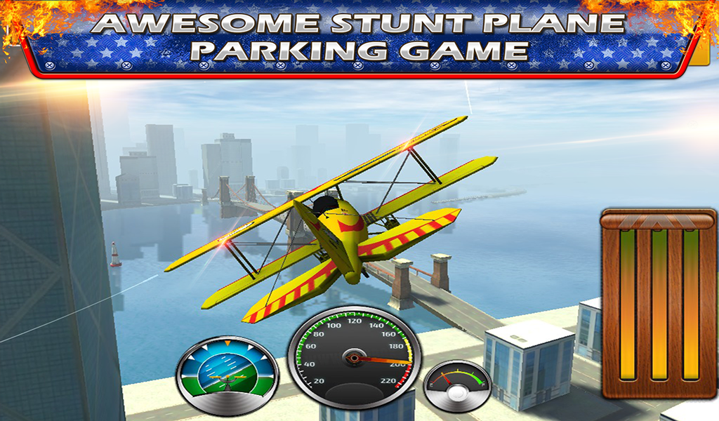 Stunt AirPlane Parking School
