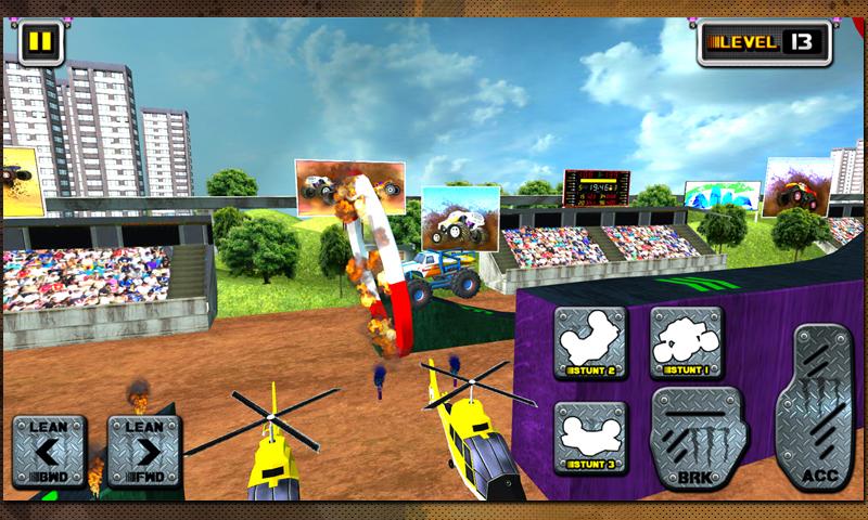 Stunts Monster 3D