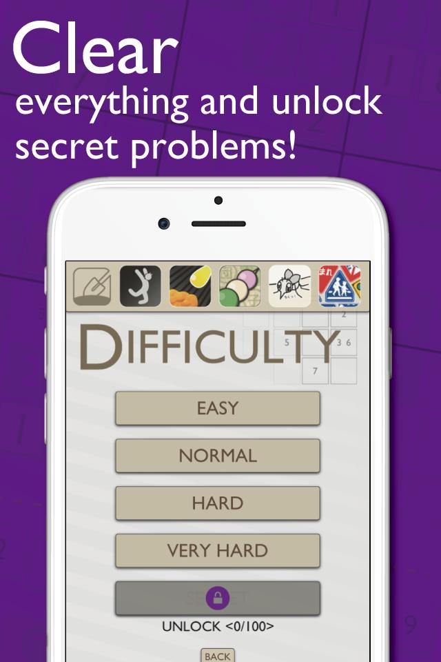 Sudoku100 Purple Ver.