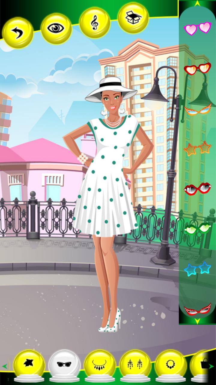 Summer fashion dress up games