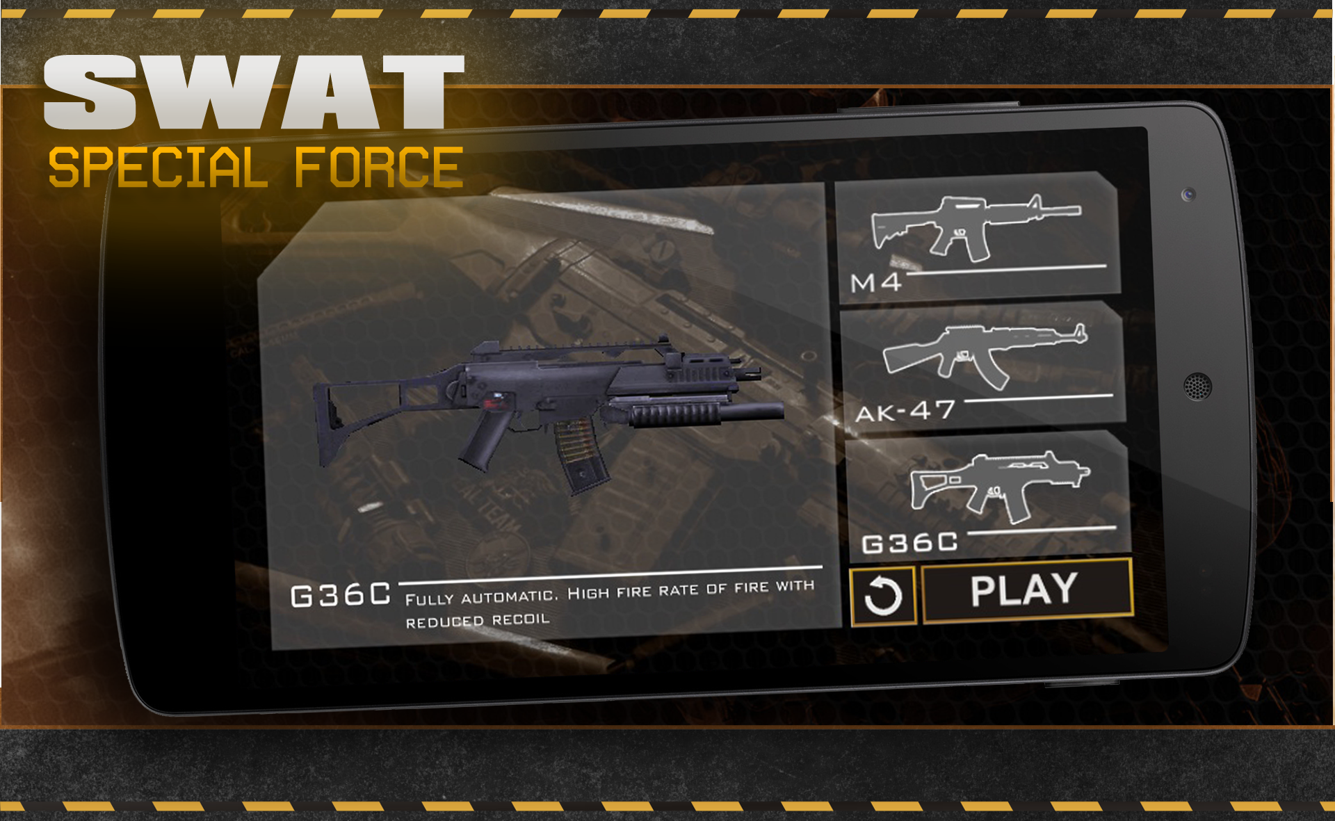 SWAT 3D war game shooter