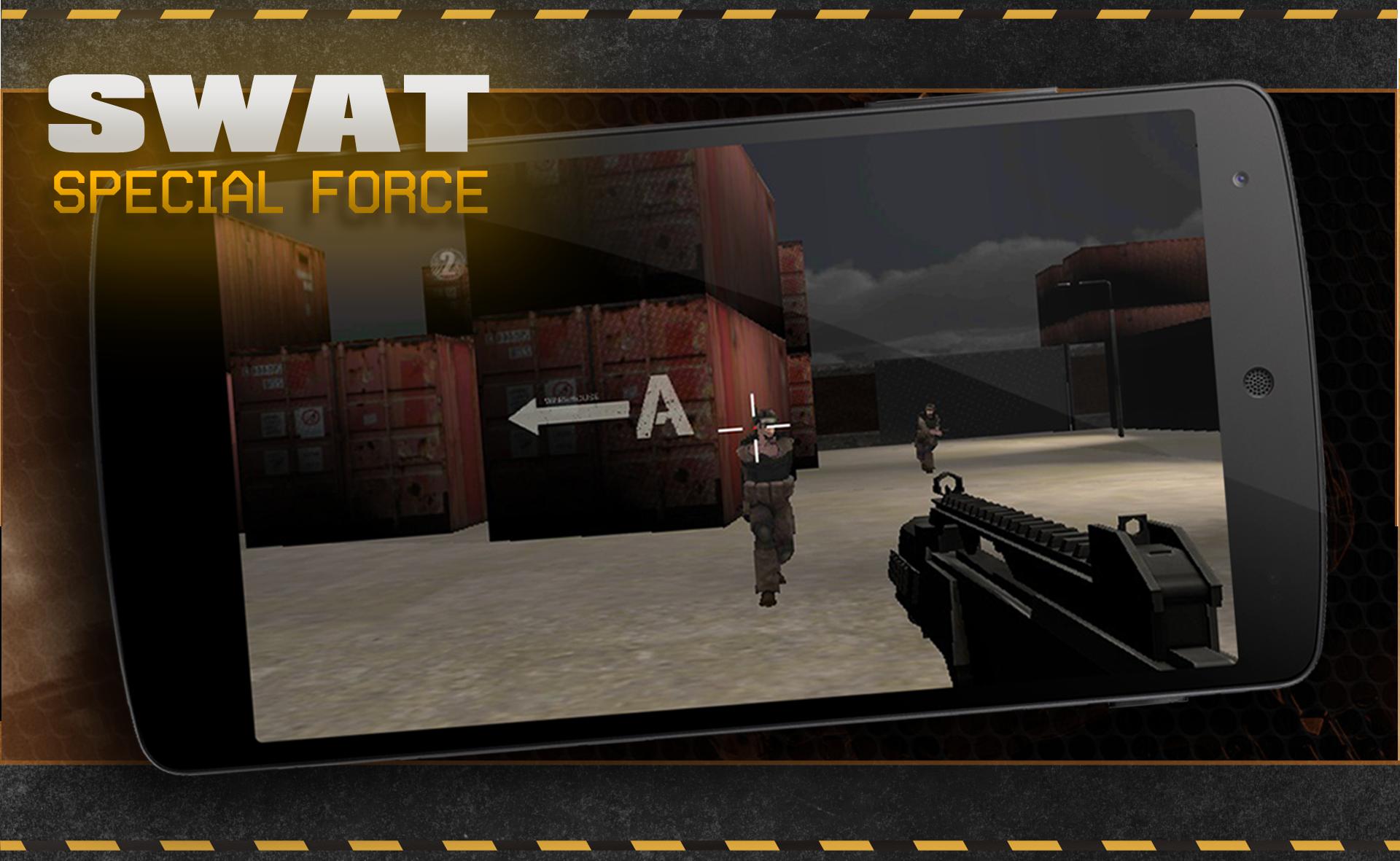 SWAT 3D war game shooter