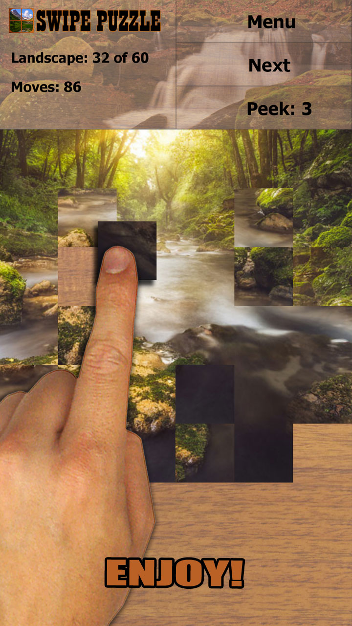 Swipe Puzzle: Landscapes