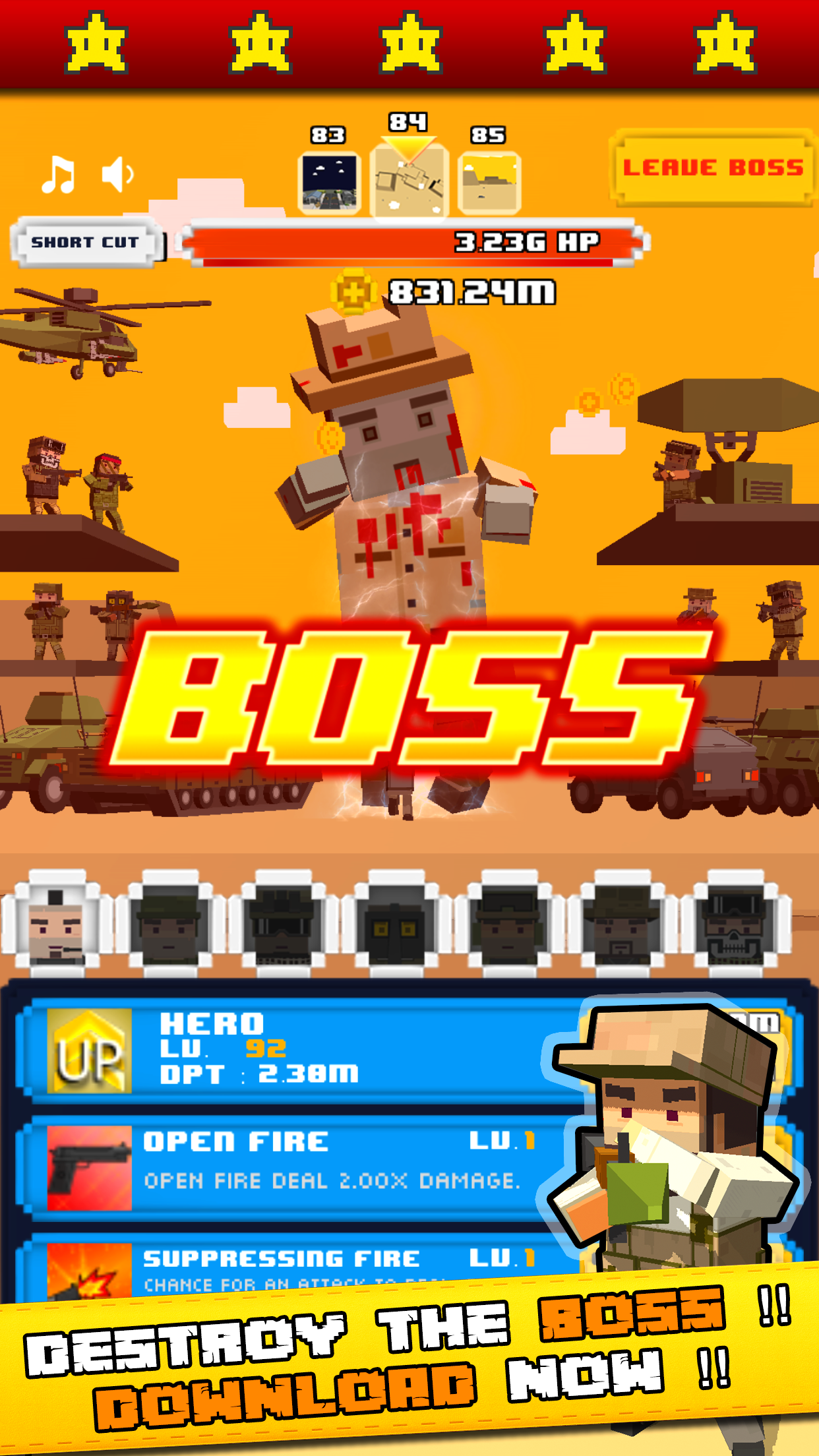 Tap Zombies - The Heroes War