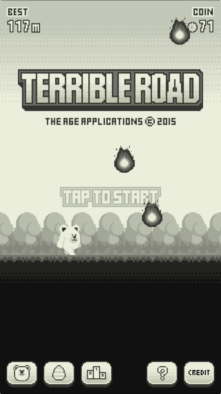 Terrible Road ~You die when you hit the fireball~