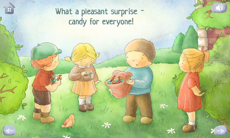 The Happy Star – Interactive Children's Picture Book