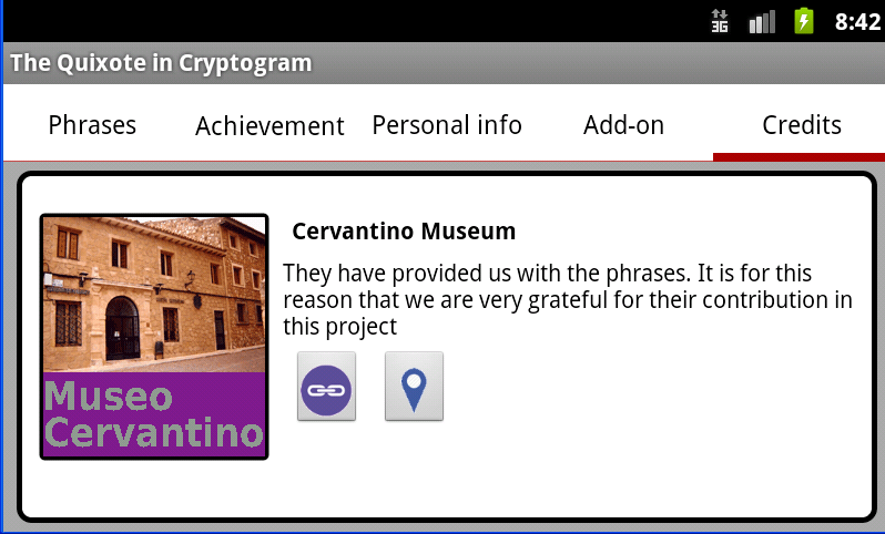 The Quixote in Cryptogram
