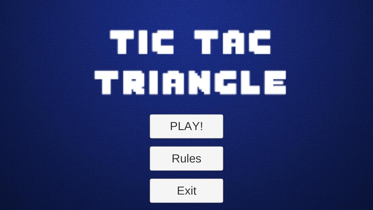 Tic Tac Triangle
